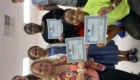 group holding certificates